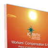 IC Frith double sided pop up banner